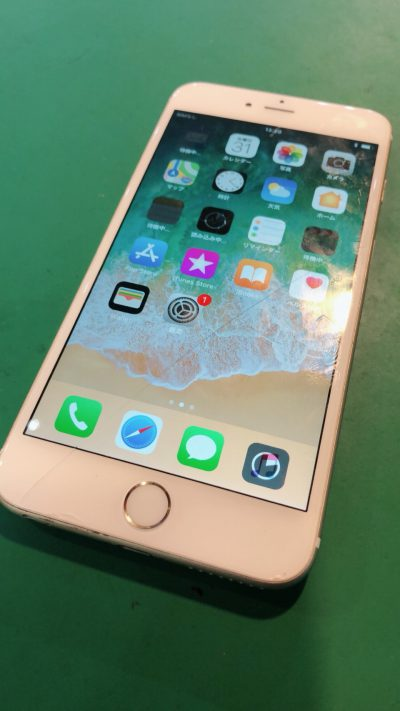 iPhone6プラス ガラス割れ 買取