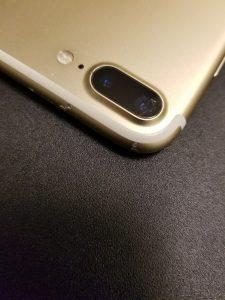 iPhone7Plus アウトカメラガラス割れ