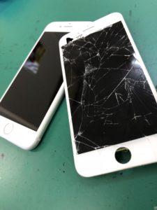 葛西,iPhone,画面割れ,液晶割れ