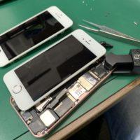 iPhoneSEフレーム液晶