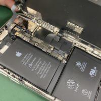 iPhoneXのバッテリー